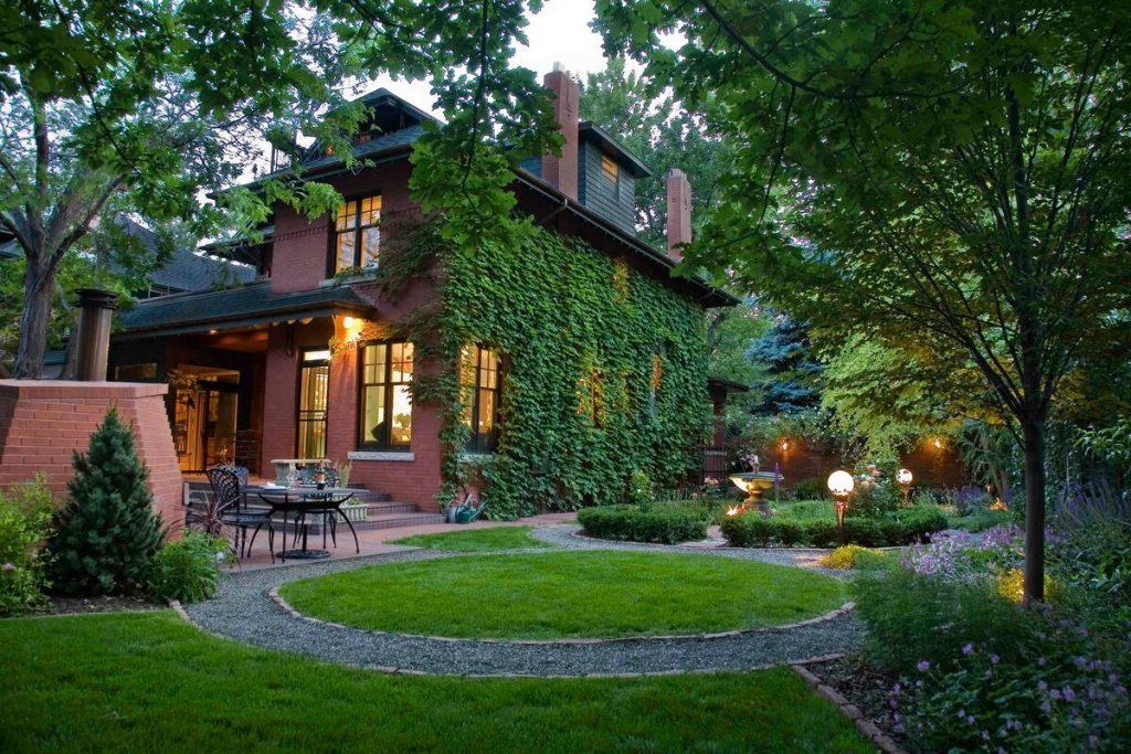 Проект ландшафтного дизайна загородного дома