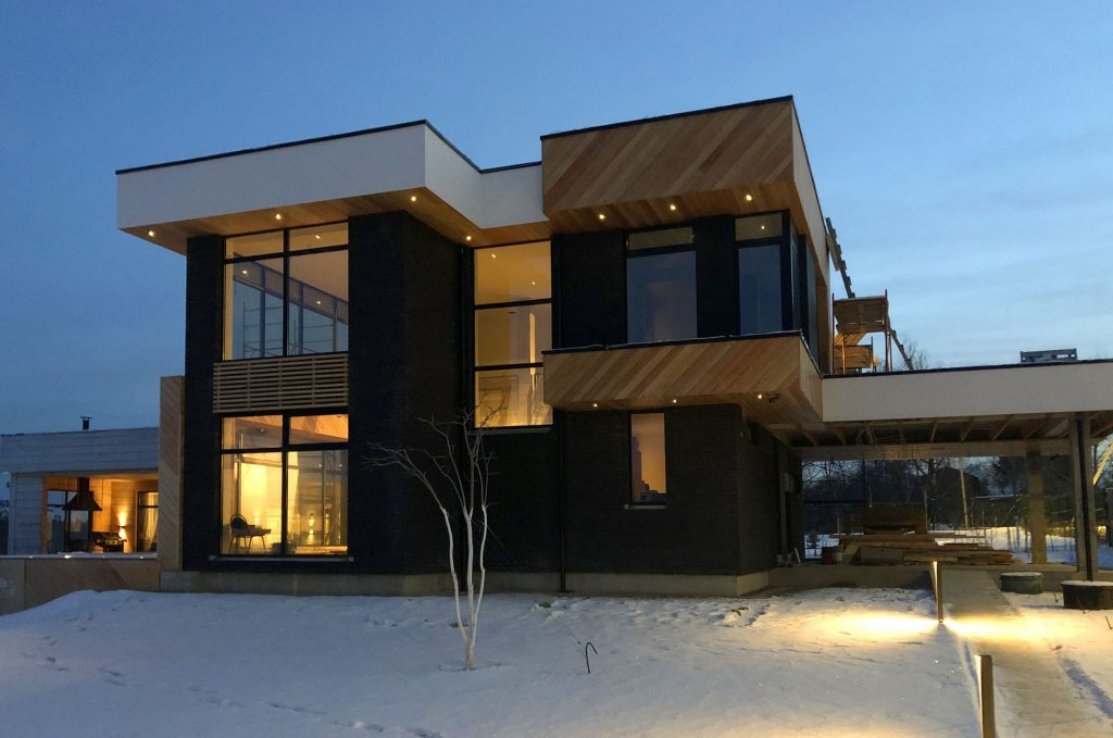 Дом с плоской крышей Глаголево
