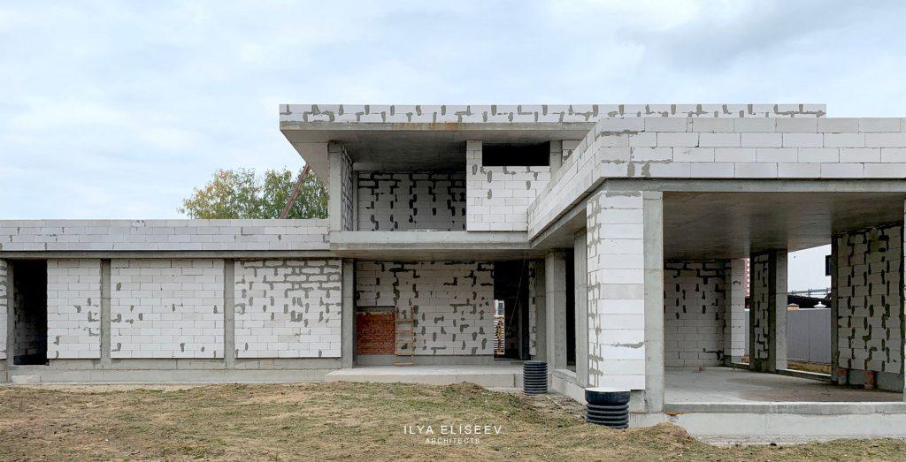 Дом с плоской кровлей Валуево